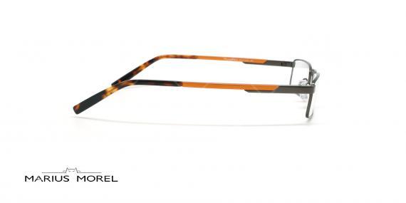 عینک  مطالعه  مورل - MARIUS MOREL 50057M - طوسی نارنجی - عکاسی وحدت - زاویه کنار