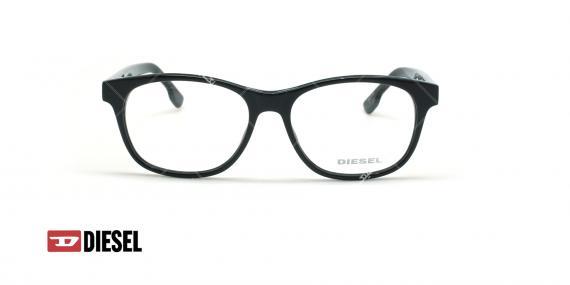 عینک طبی مستطیلی دیزل - DIESEL DL5198 - مشکی - عکاسی وحدت - زاویه روبرو