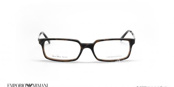 عینک طبی مستطیلی امپریو آرمانی - Emporio Armani EA9781 - قهوه ای  - عکاسی وحدت - زاویه روبرو