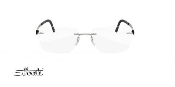 عینک طبی گریف سیلوئت - 5446 Silhouette - طوسی - عکاسی وحدت - زاویه روبرو