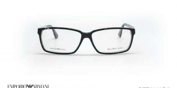 عینک طبی مستطیلی امپریو آرمانی - Emporio Armani EA9674 - مشکی سبز - عکاسی وحدت - زاویه روبرو