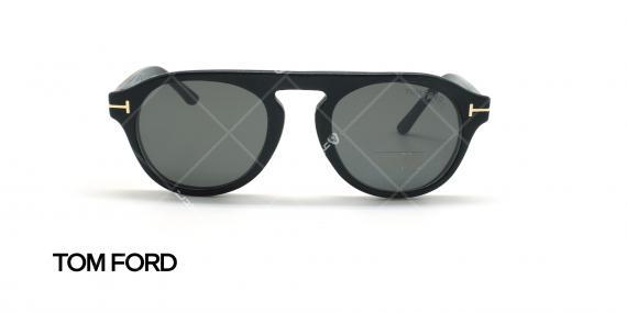 عینک طبی رویه دار تام فورد - TOM FORD TF5533-B - مشکی - عکاسی وحدت - زاویه روبرو