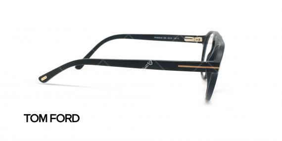 عینک طبی رویه دار تام فورد - TOM FORD TF5533-B - مشکی - عکاسی وحدت - زاویه کنار
