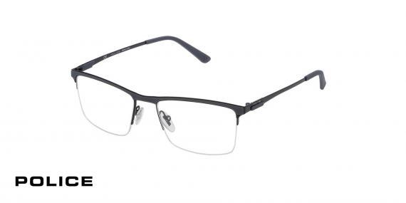 عینک زیرگریف VPL564  پلیس- رنگ مشکی - اپتیک وحدت - عکس از زاویه سه رخ