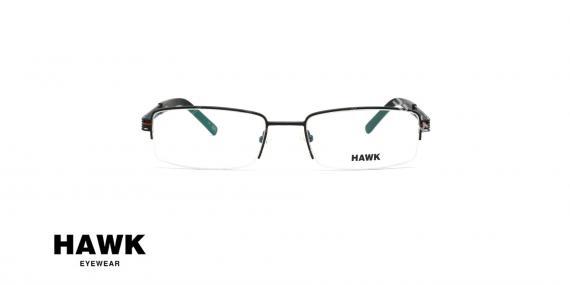 عینک طبی هاوک - HAWK HW6434 - عکاسی وحدت - زاویه روبرو