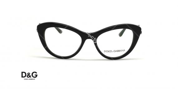 عینک طبی گربه ای دولچه و گابانا - DOLCE &GABBANA DG3265B - عکاسی وحدت - عکس زاویه روبرو