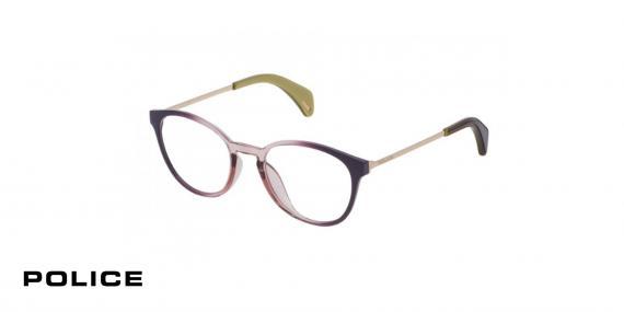 عینک طبی پلیس - POLICE VPL626- اپتیک وحدت - عکس از زاویه سه رخ