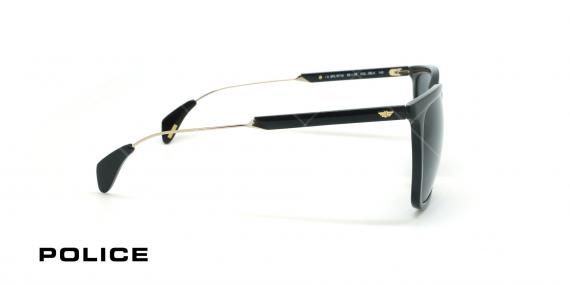 عینک آفتابی پلیس - POLICE SPL671G -فریم مشکی- عکاسی وحدت - زاویه بقل