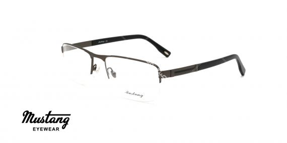 عینک طبی زیرگریف موستانگ - MUSTANG MU6846 - عکاسی وحدت - عکس زاویه سه رخ