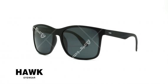 عینک مربعی آفتابی هاوک HAWK HW1712 - عکاسی وحدت - عکس از سه رخ
