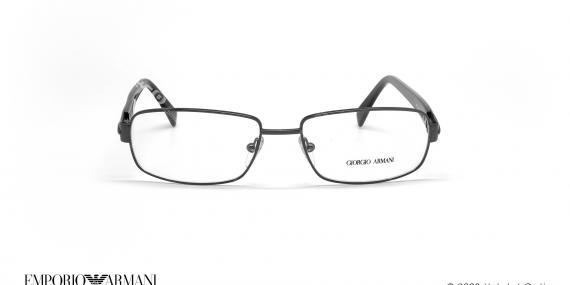 عینک طبی جورجیو آرمانی - GIORGIO ARMANI GA714 - مشکی - عکاسی وحدت - زاویه روبرو