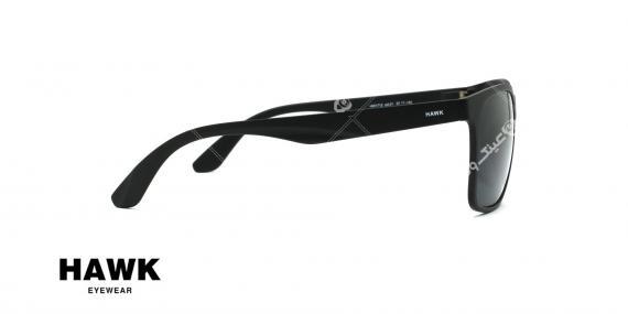 عینک مربعی آفتابی هاوک HAWK HW1712 - عکاسی وحدت - عکس از کنار