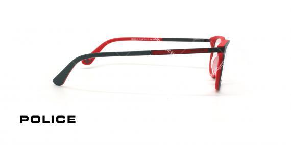عینک طبی پلیس - POLICE VPLA45 RECORD4-عکاسی وحدت - عکس زاویه کنار