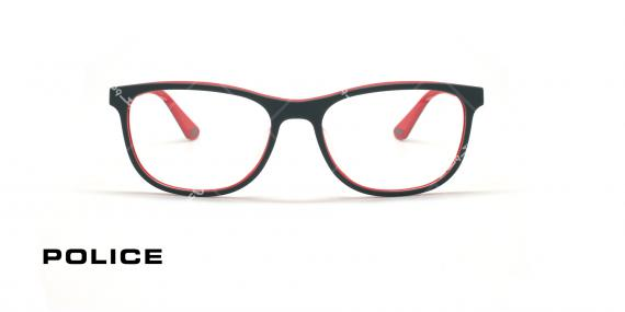 عینک طبی پلیس - POLICE VPLA45 RECORD4-عکاسی وحدت - عکس زاویه روبرو