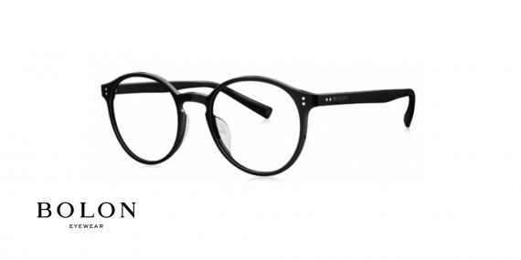 عینک طبی گائوچویی بولون - BOLON BD3000 - عکس از زاویه سه رخ