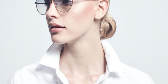 عینک آفتابی پروانه ای بولون - BOLON BL7086  - طلایی
