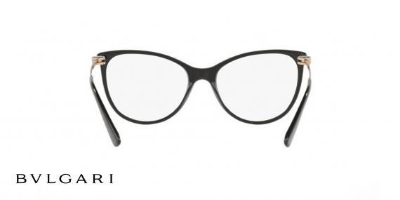 عینک طبی بولگاری مشکی رنگ - زاویه کنار