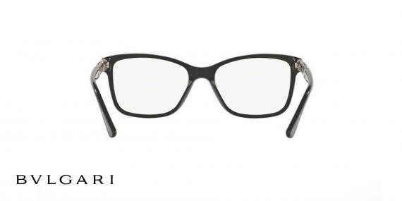 عینک طبی کائوچویی بولگاری - مشکی رنگ - زاویه داخل