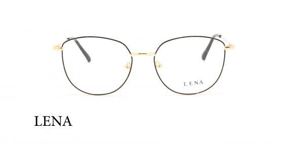 عینک طبی لنا -LENA LE452 - فریم طلایی - عکاسی وحدت - عکس زاویه روبرو