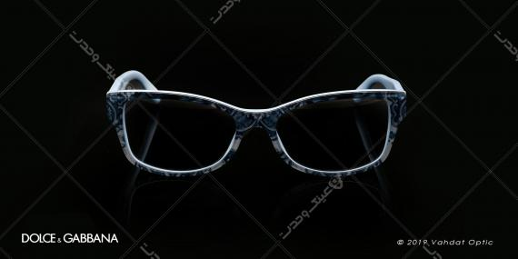 عینک طبی زنانه دولچه و گابانا -  DOLCE & GABANNA DG 3204 - عکاسی وحدت - عکس زاویه روبرو