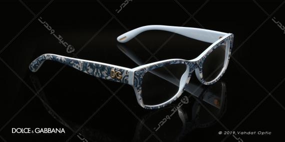 عینک طبی زنانه دولچه و گابانا -  DOLCE & GABANNA DG 3204 - عکاسی وحدت - عکس زاویه سه رخ