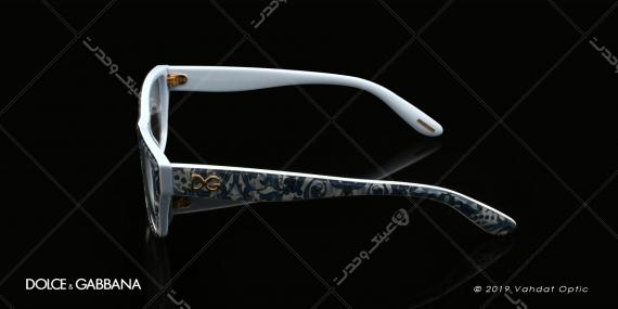 عینک طبی زنانه دولچه و گابانا -  DOLCE & GABANNA DG 3204 - عکاسی وحدت - عکس زاویه کنار