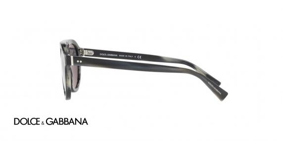 عینک آفتابی کائوچویی مردانه مدل جاز دولچه گابانا - زاویه کنار