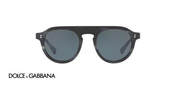 عینک آفتابی کائوچویی مردانه مدل جاز دولچه گابانا - زاویه روبرو