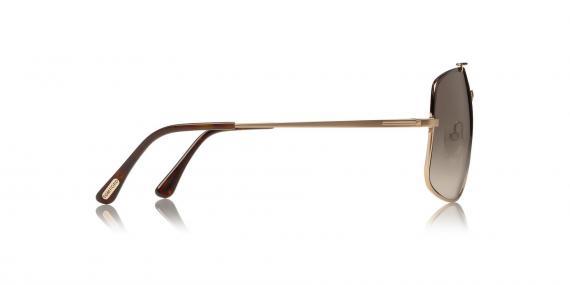 عینک آفتابی تام فورد - طرح مدل ژنرال  - زاویه کنار
