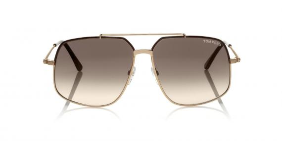 عینک آفتابی تام فورد - طرح مدل ژنرال  - زاویه روبرو