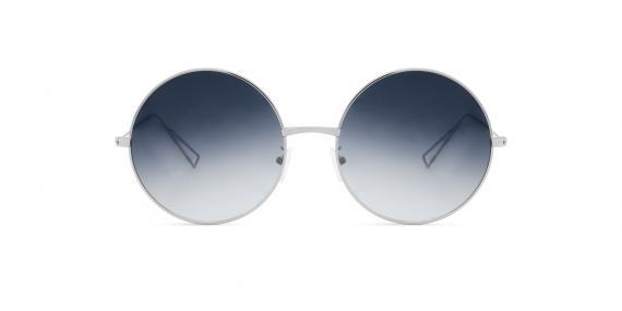 عینک آفتابی زینیا کد مدل Z8174 و کد رنگ 101GG زاویه رو به رو - تصویر برداری توسط اپتیک وحدت