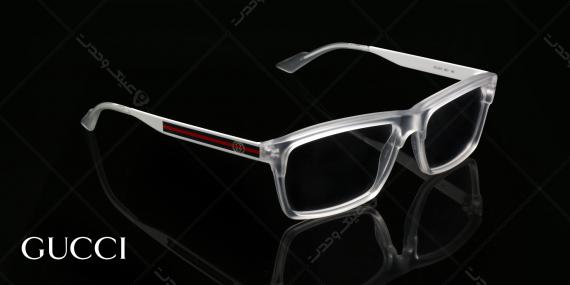 عینک طبی گوچی  - GUCCI GG3517 -عکاسی وحدت - عکس زاویه سه رخ