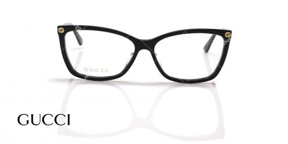 عینک طبی گربه ای گوچی - GUCCI GG0025O - عکاسی وحدت - عکس زاویه روبرو