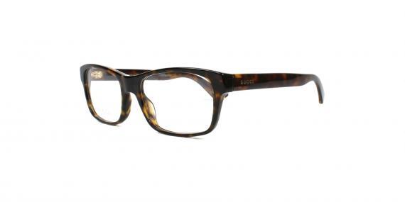 عینک طبی گوچی - مستطیل شکل - قهوه ای هاوانا