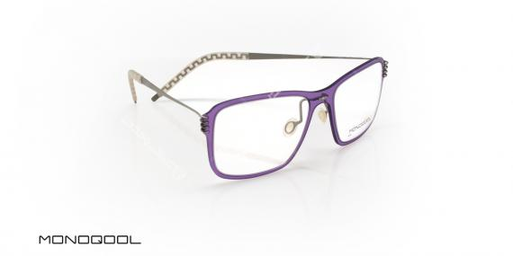 عینک طبی زنانه مونوکول - MONOQOOL IN5080 - عکاسی وحدت - عکس زاویه سه رخ
