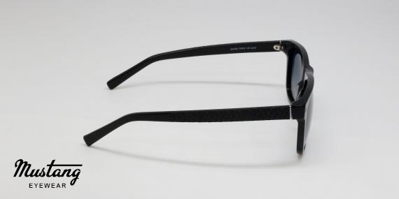 عینک آفتابی موستانگ مدل MU1767 با کد رنگ Col.1 زاویه کنار - عکاسی شده توسط اپتیک وحدت