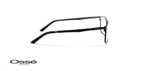 عینک طبی فلزی رویه دار اوسه - OSSE OS11978 - رنگ مشکی - عکاسی وحدت - عکس زاویه کنار