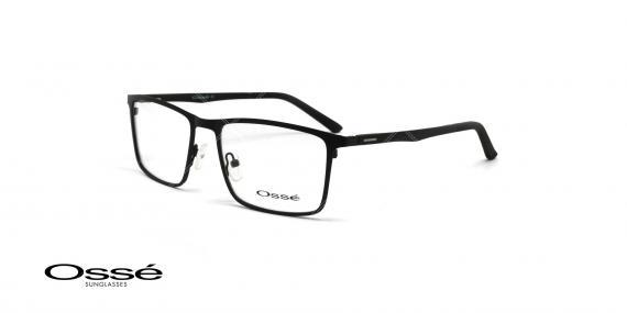 عینک طبی فلزی رویه دار اوسه - OSSE OS11978 - رنگ مشکی - عکاسی وحدت - عکس زاویه سه رخ