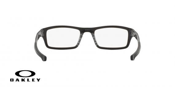 عینک طبی اوکلی بیس دار مستطیلی شکل مشکلی رنگ - ویژه فروش آنلاین - زاویه پشت
