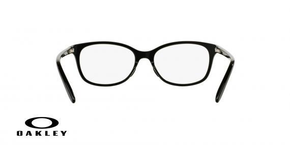عینک طبی اوکلی بیضی شکل مشکی رنگ - ویژه فروش آنلاین - زاویه داخل