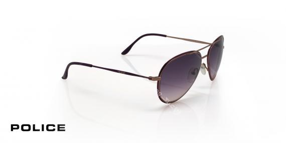 عینک آفتابی مدل خلبانی پلیس - POLICE SPL8299 - عکاسی وحدت - عکس زاویه سه رخ