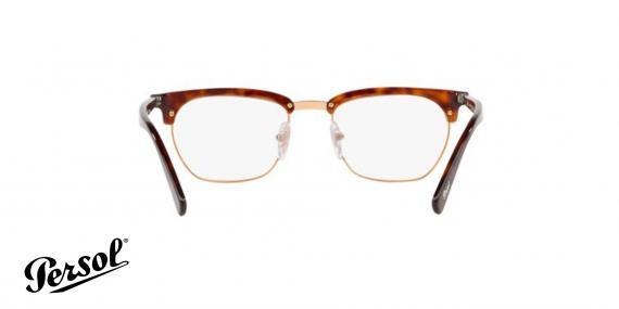 عینک طبی کلاب مستر پرسول رنگ هاوانا - زاویه داخل