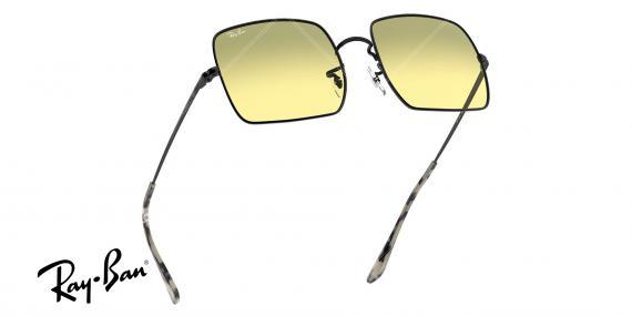 عینک آفتابی ری بن EVOLVE RB1971-فریم مشکی و عدسی سبز- اپتیک وحدت - عکس از زاویه سه رخ