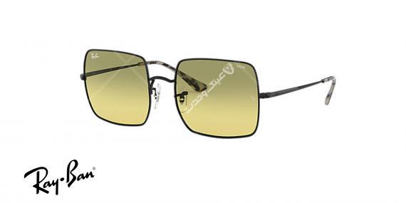 عینک آفتابی ری بن EVOLVE RB1971- فریم مشکی و عدسی سبز-اپتیک وحدت - عکس از زاویه سه رخ