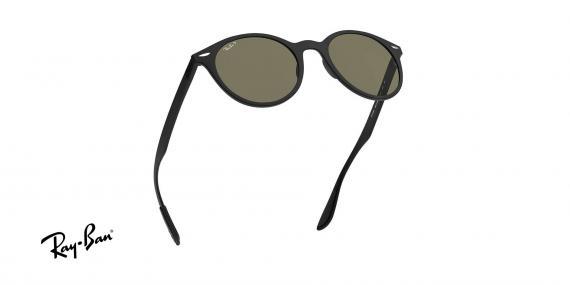 عینک آفتابی ریبن - گرد Forcelite - بدنه مشکی مات - عدسی سبز کلاسیک G15