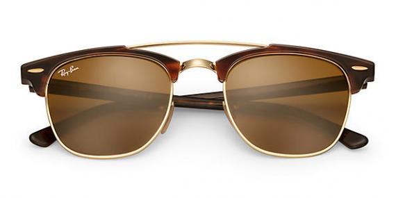 عینک آفتابی ری بن - کلاب مستر دو پل - Clubmaster Double Bridge - خرید آنلاین 2