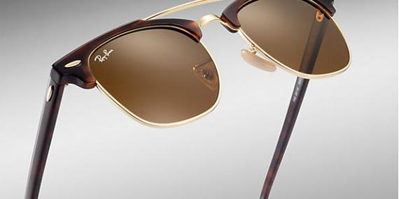 عینک آفتابی ری بن - کلاب مستر دو پل - Clubmaster Double Bridge - خرید آنلاین 3
