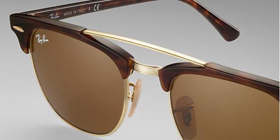 عینک آفتابی ری بن - کلاب مستر دو پل - Clubmaster Double Bridge - خرید آنلاین 4