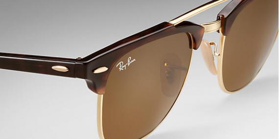 عینک آفتابی ری بن - کلاب مستر دو پل - Clubmaster Double Bridge - خرید آنلاین 5