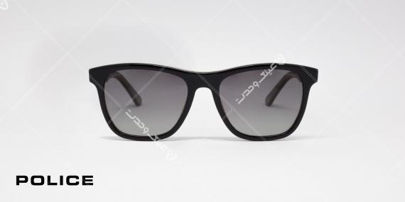 عینک آفتابی پلیس مدل SPL493 Block1 کد رنگ GBEP زاویه رو به رو - عکاسی شده توسط اپتیک وحدت